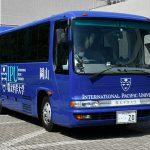 日生教 岡山大会会場へのシャトルバス